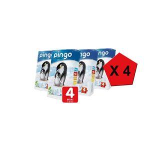 pingo Couche taille 4 Maxi (7-18 kg) - paquet de 200