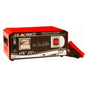 Lacme VAC 100-3 - Chargeur professionnel 6A pour batteries 12V