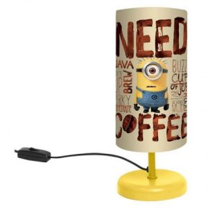 Lampe de chevet Minion Need Coffee (29 cm)