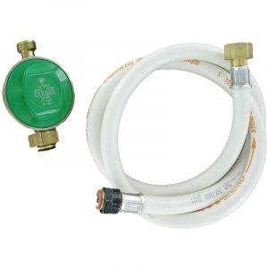 Comap Détendeur pour butane avec sécurité et flexible souple