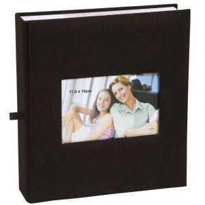 Erica Lot de 3 albums photos Square à pochettes 11.5x15 pour 200 photos - violet vert noir