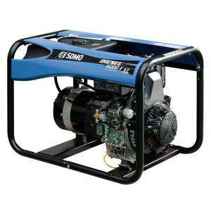 SDMO Diesel 6000 E XL C - Groupe électrogène monophasé 5.2 kw
