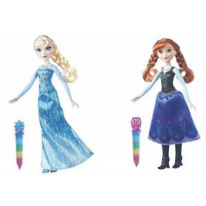 Hasbro Poupée  La Reine des Neiges pierres précieuses