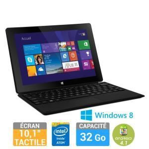 "Danew DualBoot i1012 32 Go - Tablette tactile 10.1"" sous Windows 8 et Android 4.2 avec housse clavier"