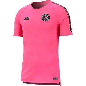 Nike Haut de football Paris Saint-Germain Breathe Squad pour Homme - Rose - Taille XL - Homme