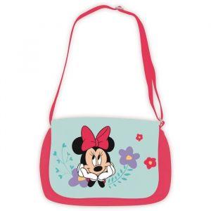 Jemini Disney Minnie sac besace en peluche h.22 x l.30 cm pour enfant