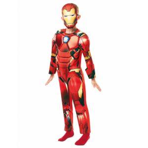 Déguisement deluxe Iron Man enfant 3 à 4 ans (104 cm)