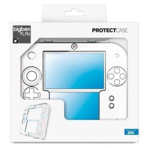 Bigben 2DS Polycarbonat Case - Etui transparente pour Nintendo 2DS