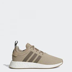 Adidas NMD_r2, Chaussures de Fitness Homme - Vert - Vert (Caqtra/Marsim/Negbas), 38 2/3 EU