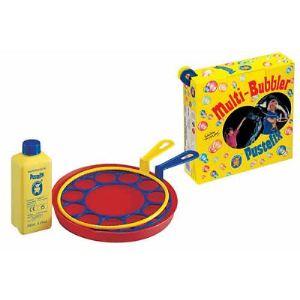 Pustefix Bulles de savon : Multi-Bubber anneaux et assiette (tube de 250 ml)