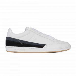 Le Coq Sportif Baskets basses Courtclay tricolore en cuir Blanc