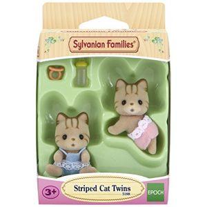 Epoch Sylvanian Family 5188 - Jumeaux Chats tigrés