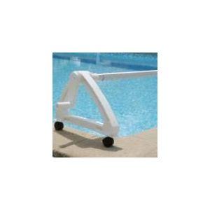 Kokido K846CBX - Enrouleur de bâche résine pour piscines enterrées avec tube 5,50 m maximum
