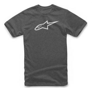 Alpinestars Tee-shirt Ageless Classic charcoal heather/blanc - L