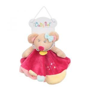 Babynat BabyNat Souris Rosie plat Rose Jaune Col BN261