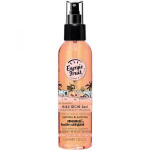 Energie Fruit Monoï et huile d'argan - Huile sèche 2 en 1 hydratation et massage