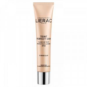 Lierac Teint Perfect Skin - Fluide de Teint - 01 Beige Clair - 30 ml - SPF 20
