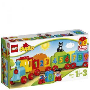 Image de Lego 10847 - Duplo : Le train des chiffres