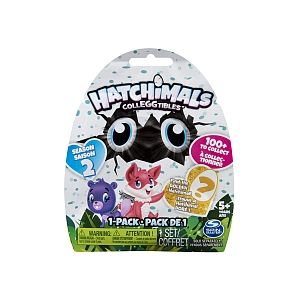 Spin Master Pack de 1 Hatchimals Saison 2 (modèle aléatoire)