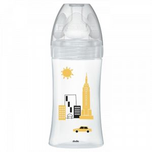 Dodie Biberon Verre Sensation + New York Débit 2 270ml