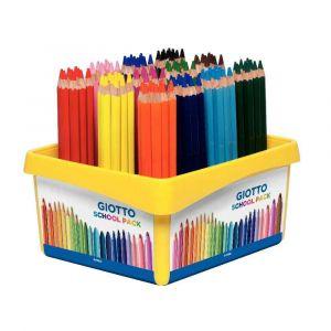 Omyacolor Crayons de couleur Mega 5.5mm - Classpack de 108