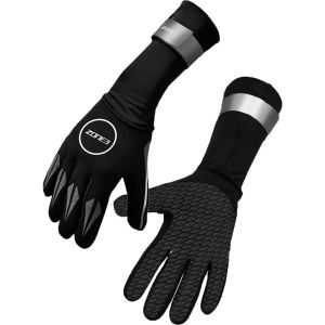 Zone3 Neoprene Swim Gloves, black/reflective silver L Gants natation