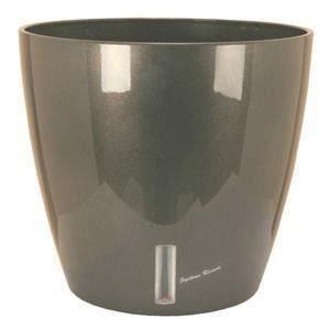 Riviera Eva 8 L - Pot rond avec réserve d'eau Ø36 cm