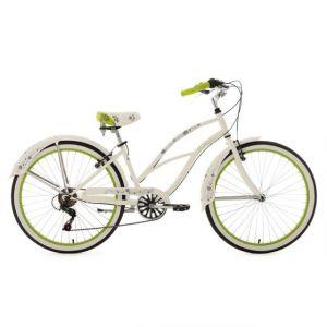 KS Cycling Beachcruiser 28'' Bellefleur blanc TC 40 cm