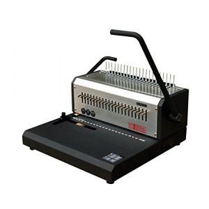 Pavo Perforelieur HD comb relieur, argent / noir, A4 - A5