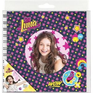 Journal intime à spirales Soy Luna