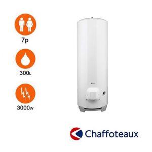 Chaffoteaux Chauffe-eau stéatite 300l Ø 570 mm stable triphasé