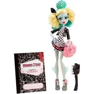 Mattel Monster High Lagoona échange monstrueux