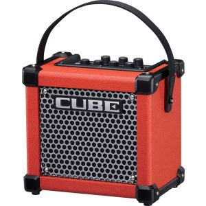 Roland Micro Cube GX - Amplificateur portable rouge