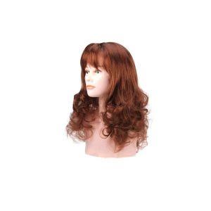 Beautydis Elsa - Perruque longue 40-45 cm ondulée blond cuivré 7.4