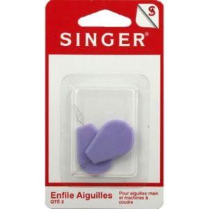 Image de Singer Accessoire couture Enfile aiguilles avec support plastique