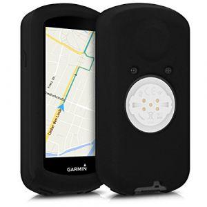 Kwmobile Housse pour Garmin Edge 1030 - Housse de protection pour GPS vélo - coque pour compteur vélo noir