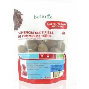 Botanic Pommes de terre Desiré bio calibre 0001, 25 plants