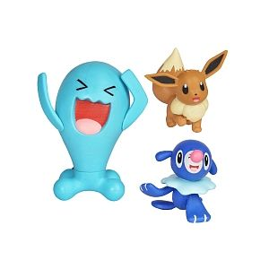 Bandai Coffret 3 Figurines - Pokémon - Flamiaou, Cosmog et Métang