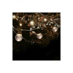 SkyLantern Guirlande Guinguette 10M Transparente LED