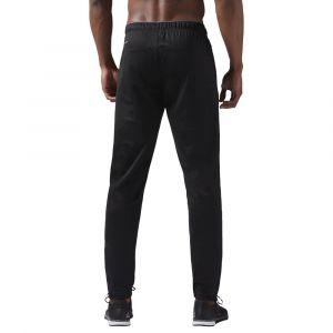 Reebok Workout Ready Pantalon Homme, Black, FR : M (Taille Fabricant : M)