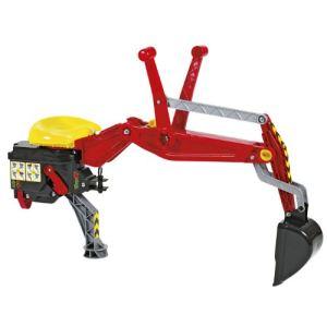 Rolly Toys Pelleteuse arrière pour tracteur à pédales
