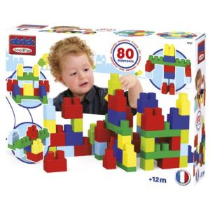Ecoiffier 7707 - Abrick : Baby Bric 80 pièces