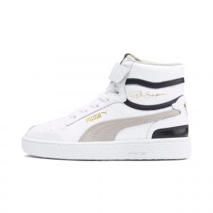 Puma Ralph Sampson Blanche Et Bleue Enfant 31 Baskets