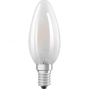 Osram LED EEC A++ (A++ - E) E14 en forme de bougie 1.4 W = 15 W blanc chaud (Ø x L) 35 mm x 100 mm à filament 1 pc(s)