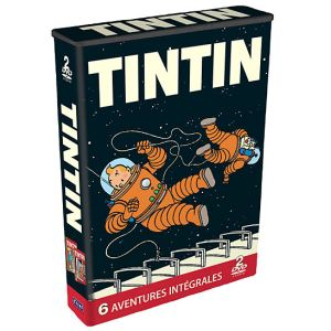 Coffret Tintin : 6 aventures, Coffret n°2