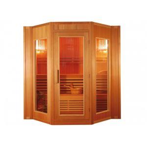 Vogue sauna Sauna Traditionnel Finlandais 4/5 places Gamme prestige GÖTEBORG II - L200*P175*H200cm