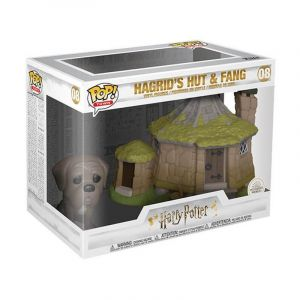 Funko Pop Town: Harry Potter-Hagrid's Hut w/Fang Figurine de Collection, 44230, Multicolore