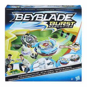 Hasbro Coffret de combat Beyblade Burst Turbo Slingshock - Attaque sur rail
