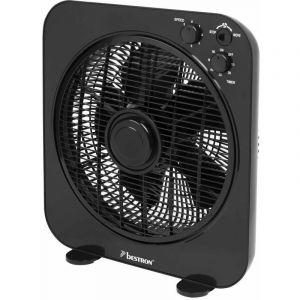 Bestron ABOX12Z - Ventilateur de bureau 30 cm noir