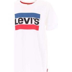 Levi's Kids NN10047 01 Short Sleeve Tee-Shirt T- Blanc